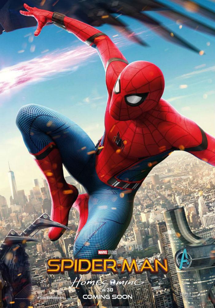 Человек паук, возвращение домой