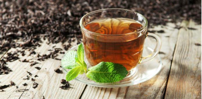 Черный чай фото