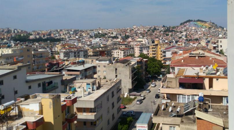 Вид на город Кушадасы