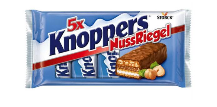 Шоколадные батончики knoppers