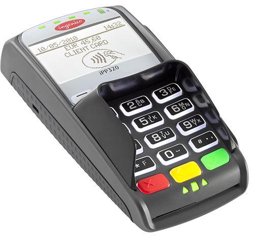 Фото: Мобильный терминал для оплаты
