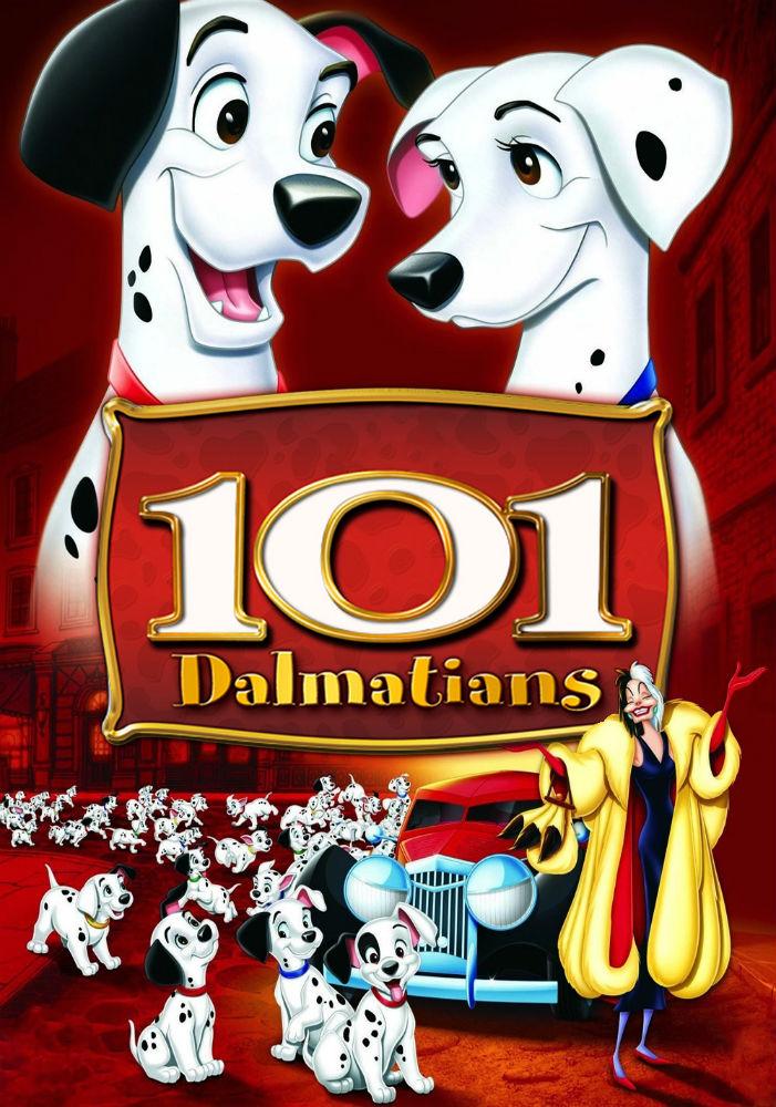 Мультфильм 101 долматинец