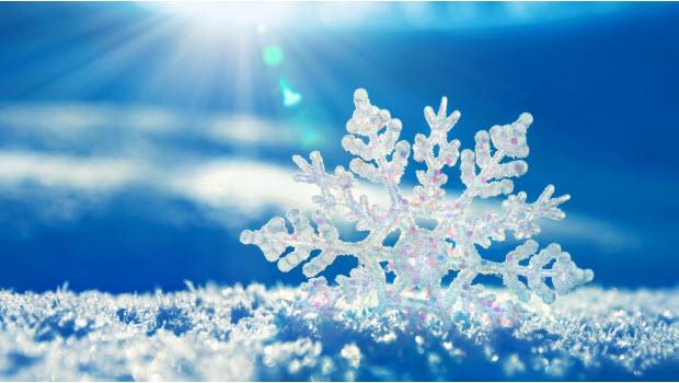 Снежинки – маленькие красивые шедевры