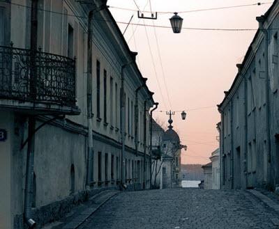 Тихие старинные улочки Выборга