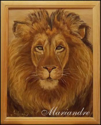 Купить портрет льва