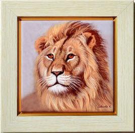 Купить портрет льва в Москве