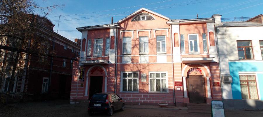 Музей Фатьянова в центре Вязников