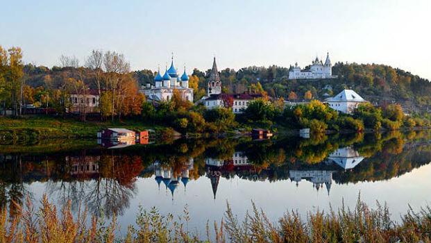 город Вязники, маленький городок Владимирской области