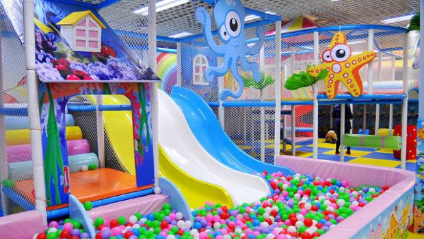 бесплатные крытые детские площадки в москве