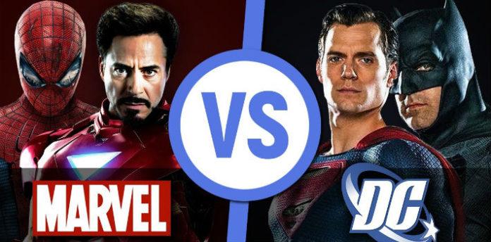 Супергерои Марвел и ДС