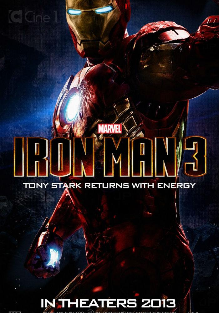Железный человек 3, обложка