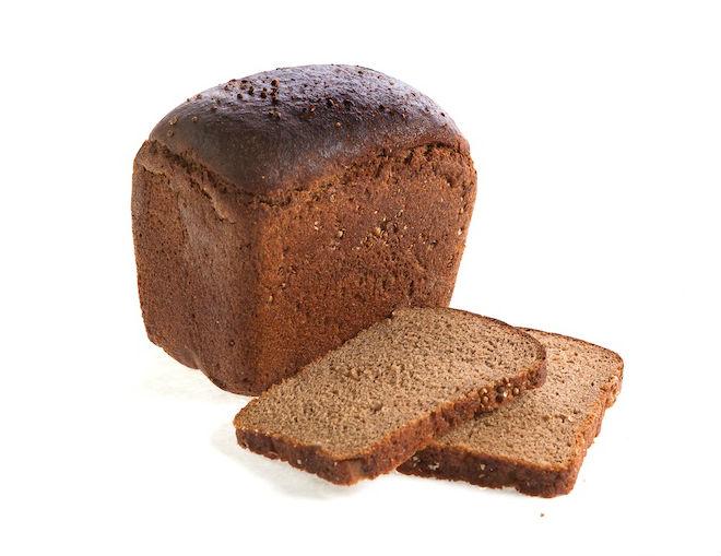 Бородинский порезанный хлеб