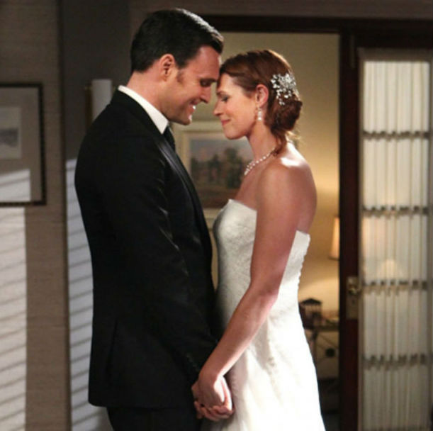 Свадьба Грейс и Ригсби