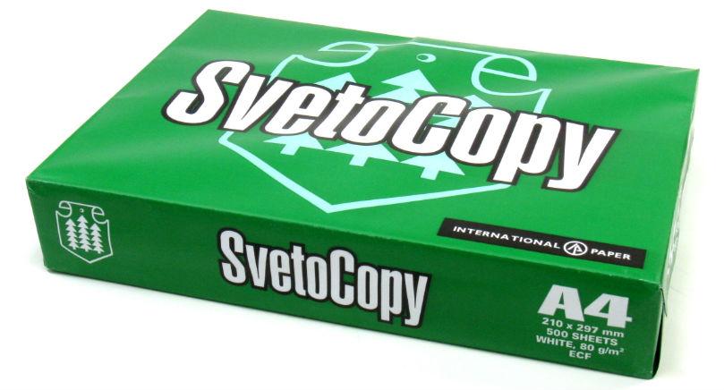 Офисная бумага SvetoCopy