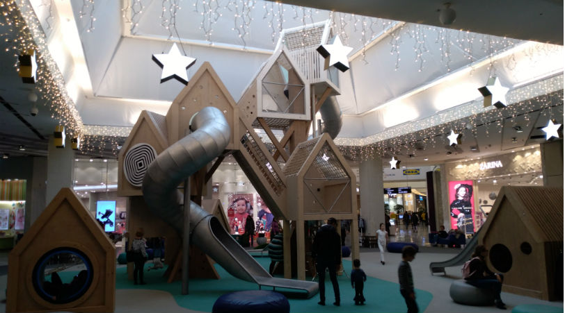 Бесплатная детская площадка в Химках фото