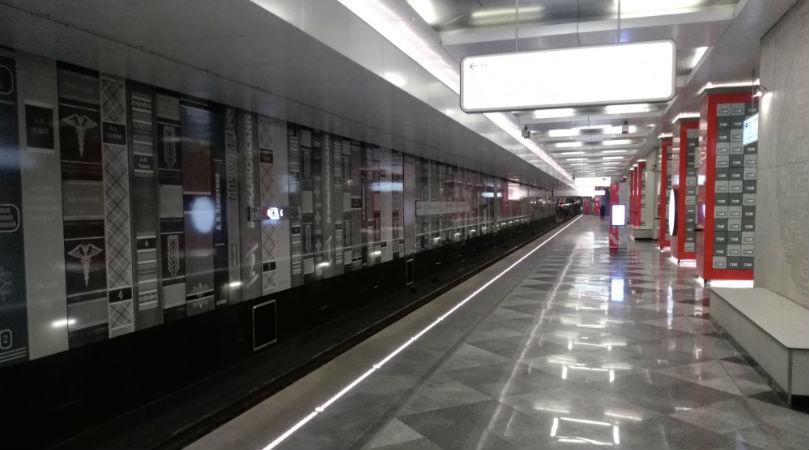 Станция метро Рассказовка, фото