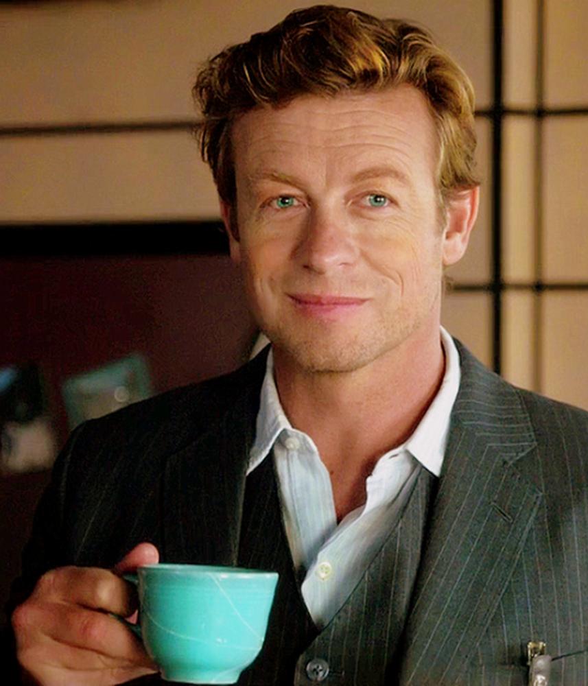 Патрик Джейн со своей любимой чашкой