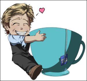 Картинка Патрик Джейн и большая чашка