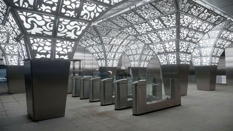 Станция Новопеределкино