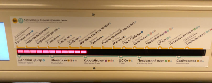 Солнцевская линия московского метро